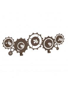 ARTI e MESTIERI: Meccano appendiabiti metallo con ingranaggi bronzo 80cm in offerta
