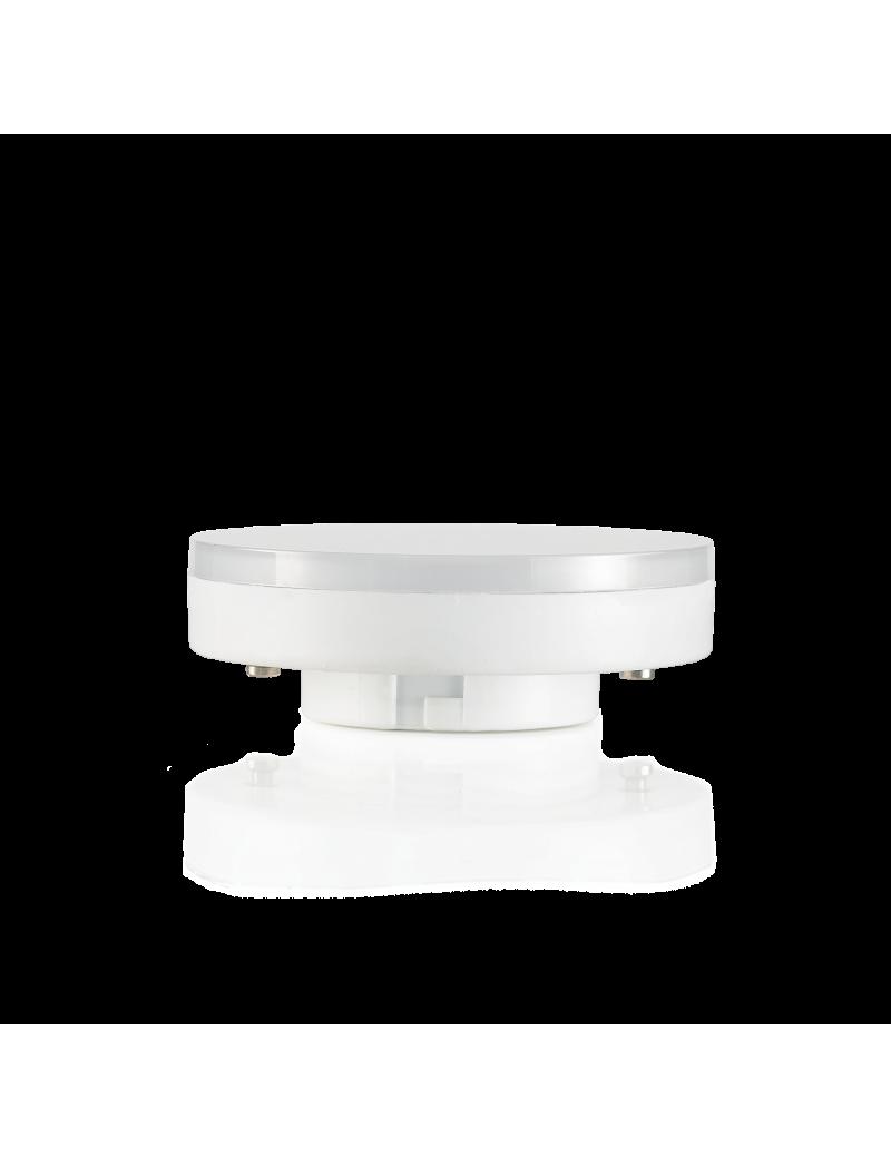 IDEAL LUX: Lampadina led GX53 7 W bulb disc 200° luce naturale 4000k in offerta