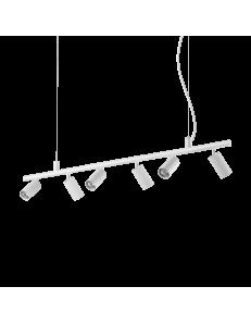 Dynamite sp6 sospensione GU10 led diffusori orientabili bianco