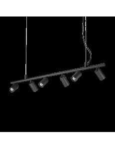 Dynamite sp6 sospensione GU10 led diffusori orientabili nero