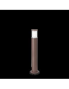 IDEAL LUX: Tronco pt1 paletto alluminio illuminazione giardino coffee 80cm in offerta