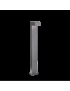 IDEAL LUX: Sirio pt2 big paletto illuminazione per giardino grigio 80cm in offerta