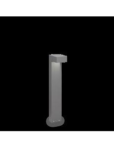 IDEAL LUX: Sirio pt2 small paletto illuminazione giardino grigio 60cm in offerta