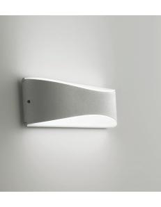 Applique biemissione da esterno LED 10w 4000k ip65 grigio o antracite