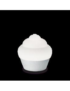 IDEAL LUX: Cupcake lampada da tavolo per cameretta cromo in offerta
