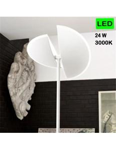 GEA LUCE: Lampada LED dimemrabile bianca diffusore regolabile in offerta