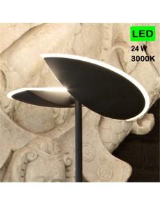 GEA LUCE: Lampada LED dimemrabile nero diffusore regolabile in offerta
