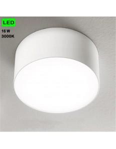 GEA LUCE: Plafoniera 16w LED rotonda Ø14 corridoio ingresso luce calda in offerta