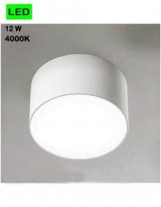 GEA LUCE: Plafoniera 12w LED rotonda Ø12 corridoio ingresso luce naturale in offerta