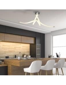 Armonia lampadario led 50w luce calda 114cm