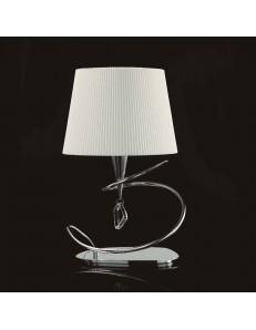 Mara lampada da tavolo moderna con paralume in tessuto
