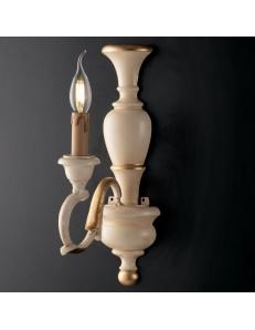 Fiorenza applique acorio oro anticato legno