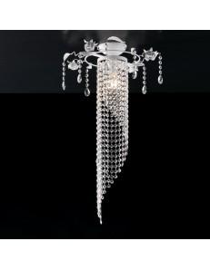 BONETTI ILLUMINA: Lolita plafoniera piccola shabby pendenti in cristallo k9 e strass in offerta