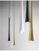 GEA LUCE: Dafne sospensione piccola LED 7w lampada penisola cucina bianco oro o nero luce calda Gea
