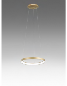 GEA LUCE: KRIZIA sospensione piccola oro Ø48 led dimmerabile 38watt luce calda Gea luce in offerta