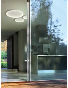 GEA LUCE: KRIZIA plafoniera led dimmerabile extra slim vari diametri colore bianco Gea luce in