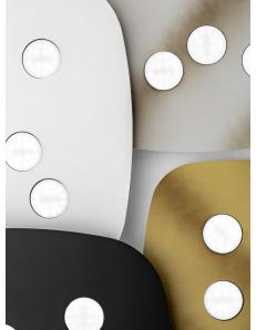 Sole 50cm plafoniera media GX53 led quadrata vari colori