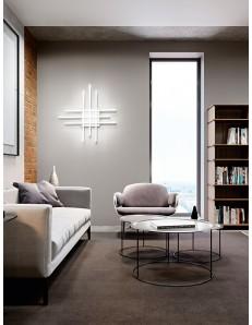 Laser plafoniera LED moderna 45w bianca luce selezionabile 3000 4000 6000