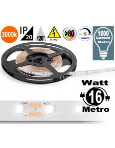 Stricia LED 16w 3000k bobina dimmerabile IP20 adesiva flessibile 60 led metro