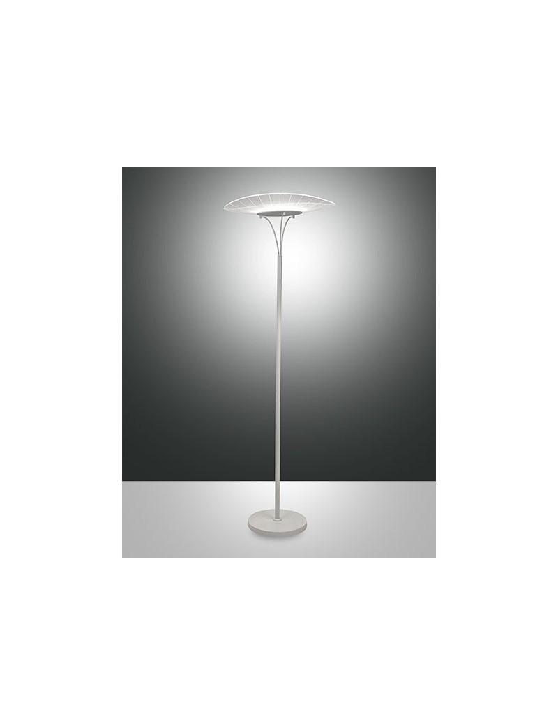 Vela lampada da terra LED 24w dimmerabile bianco design