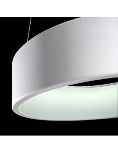 AURORA Sospensione LED rotonda metallo vari colori Ø45 27watt 2430 lumen 3000k