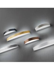 BAND piccola Applique LED metallo verniciato bianco 16watt 1280 lumen 3000k