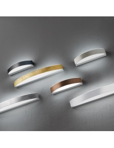 BAND media Applique LED metallo verniciato bianco 20watt 1600 lumen 3000k