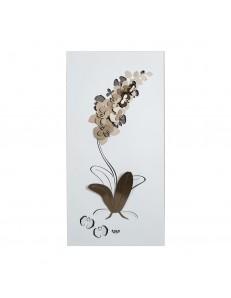 Pannello Orchidea Bronzo