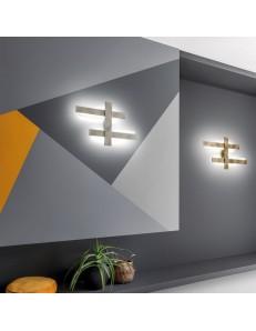 Mikado small plafoniera Led design 60w dimmerabile vari colori luce indiretta