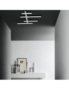 Review big plafoniera Led design 70w dimmerabile bianca 8000 lumen