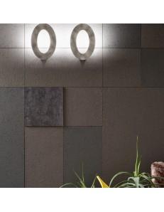 Drop applique Led design 16w dimmerabile bianco oro tortora acciaio bronzo