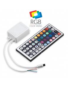 Centralina telecomando RGB a infrarossi per strisce led
