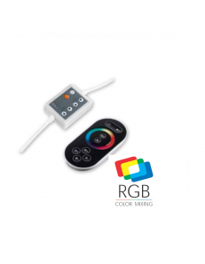 Centralina telecomando RGB onde radio touch per strisce led