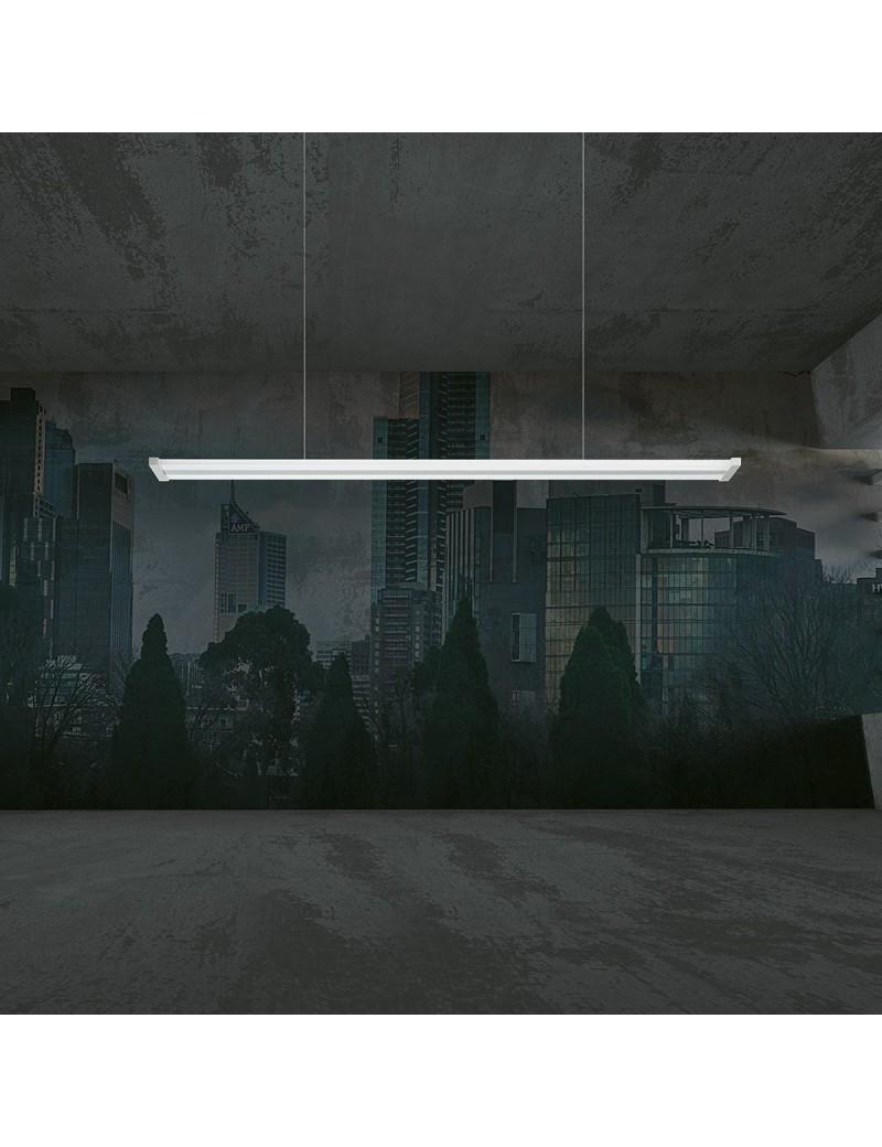 Line Sospensione LED bianco lineare dimmerabile dinamica con telecomando