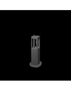 Tifone small 2pt paletto led 8.5watt IP65 esterno illuminazione giardino antracite 35cm