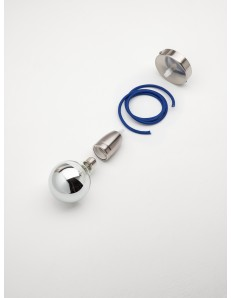 Componi e personalizza lampadario decentrabile da 1 a 12 luci x diffusori E27 pendell vari colori