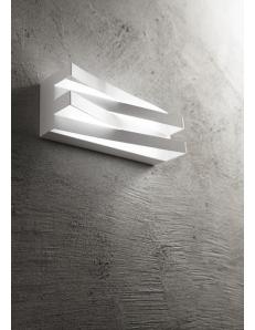 Virtus applique led 17watt bianca stilizzata luce naturale