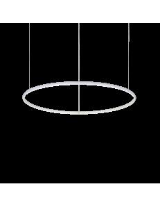 Hulahoop medium sospensione anello bianco Ø80 led 40 watt 3000k