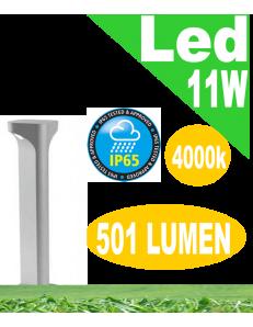 Varp small lampioncino led 11w grigio da giardino h50 ip65 moderno