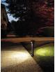 Varp paletto led 11w grigio da giardino h80 ip65 moderno